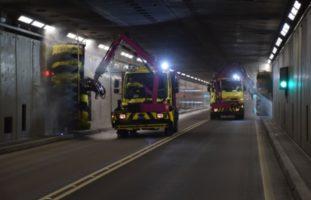 Autobahn A2: Gotthard-Tunnel gesperrt
