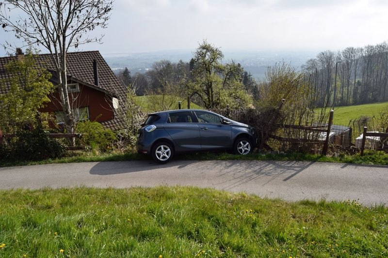 Nach Selbstunfall in Walzenhausen Unfallstelle verlassen