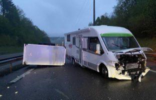Unfall auf der A1 bei Kölliken AG