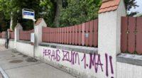 Baden AG: Sprayereien quer durch die Innenstadt