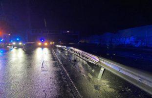Autobahn A3: Selbstunfälle wegen Aquaplaning