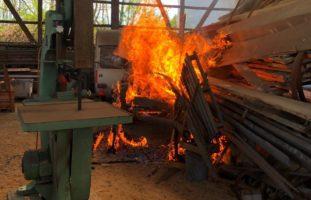 Brandstiftung in Reinach AG?