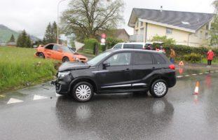 Appenzell - Vortritt missachtet: beträchtlicher Sachschaden