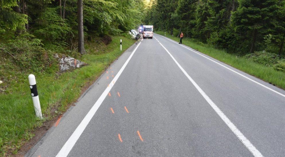 Maienfeld GR - Zwei Personen bei Selbstunfall verletzt