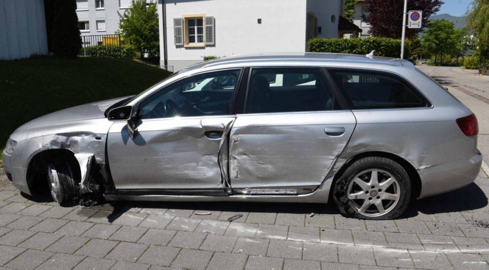 Zuchwil SO - Fahrerflucht nach Verkehrsunfall
