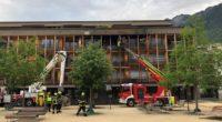 Wohnung in Chur GR gerät in Brand