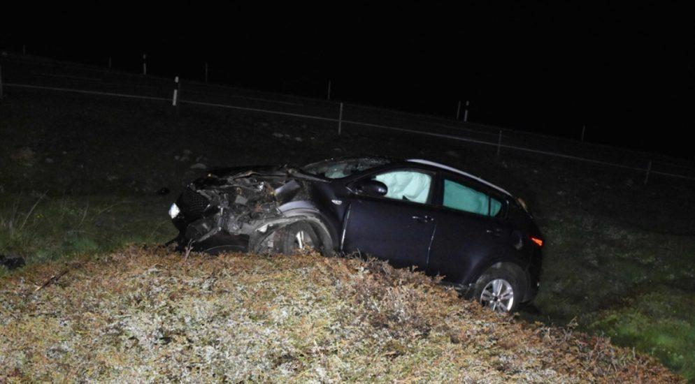 Bivio GR: 41-Jähriger nach Verkehrsunfall ins Spital geflogen