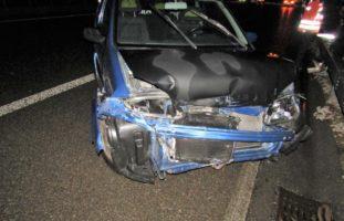 Verkehrsunfall auf der A3 bei Bilten