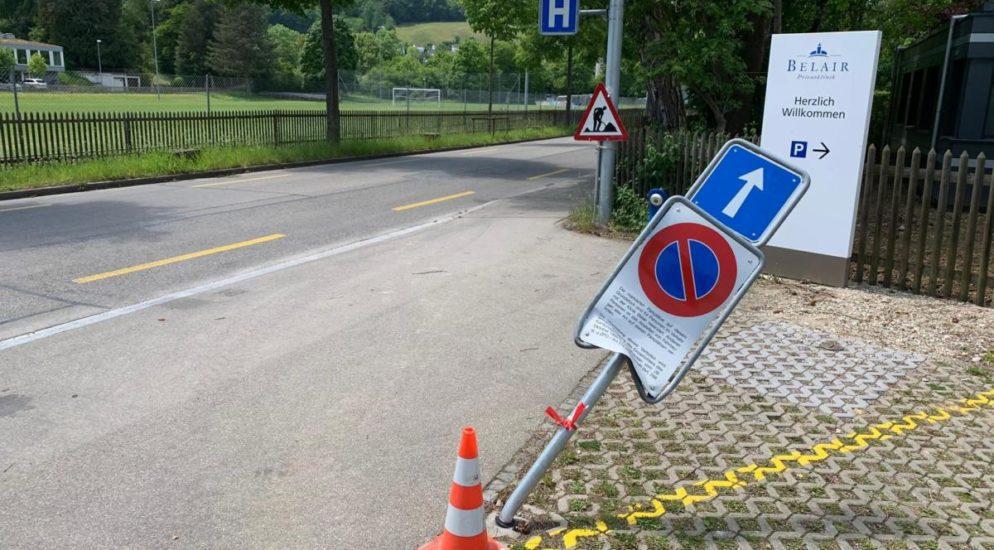 Stadt Schaffhausen: Nach Verkehrsunfall abgehauen