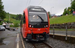 Zug-Unfall in Zürchersmühle AR: Beim Manövrieren mit Appenzellerbahn kollidiert
