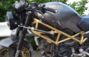 Lutzenberg AR: Bei Motorradunfall verletzt