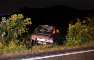 Teufen AR: Selbstunfall mit Auto