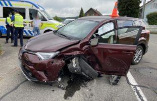 Heftige Frontalkollision in Büttikon AG