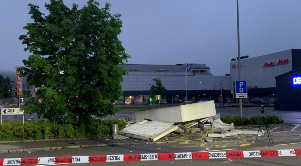 Winterthur ZH - Zwei Geldautomaten gesprengt