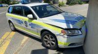 Leimbach AG - Verkehrsunfall mit Patrouillenwagen