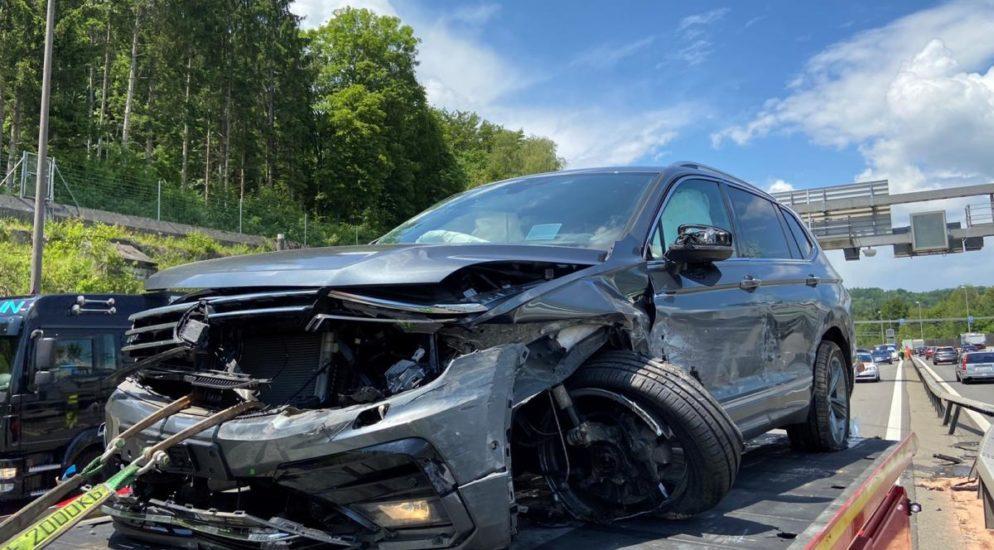 Neuenhof AG: Verkehrsunfall auf der A1 verursacht