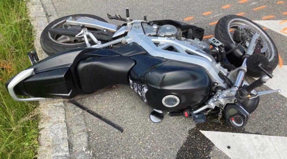 Münchwilen TG: Zwei Motorradlenker bei Verkehrsunfall zusammengeprallt