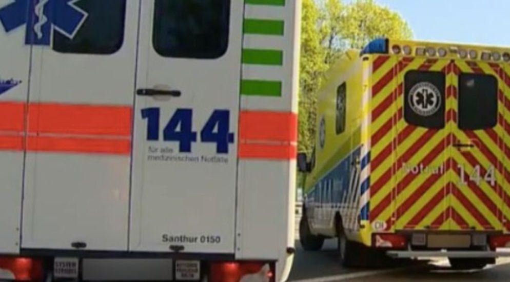 Neuhausen am Rheinfall SH: E-Scooterfahrer bei Verkehrsunfall verletzt