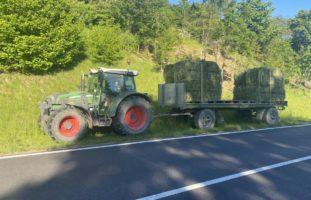 Traktor-Unfall in Hemishofen SH fordert Verletzten