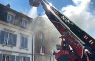 Brand im Sandrainquartier Bern