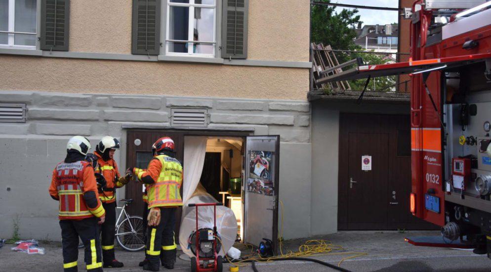 Indoor-Hanfanlage in St.Gallen durch Brand aufgeflogen