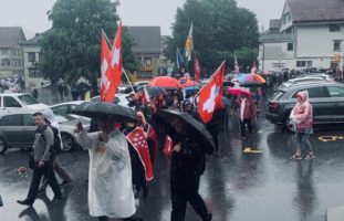Unbewilligter Demonstrationszug durch Appenzell