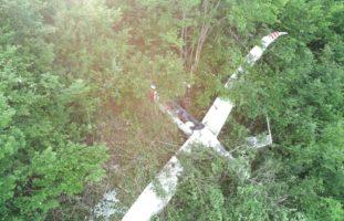 Dittingen BL: Landeunfall eines Segelflugzeuges