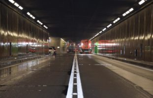 Gotthardstrassentunnel für Unterhaltsarbeiten gesperrt
