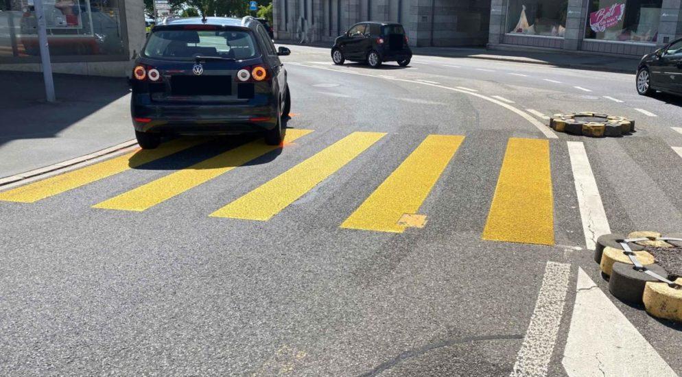 Stadt Zug - Schwangere Frau in Verkehrsunfall involviert