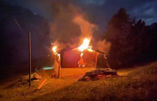 Chaletbrand in Zermatt VS
