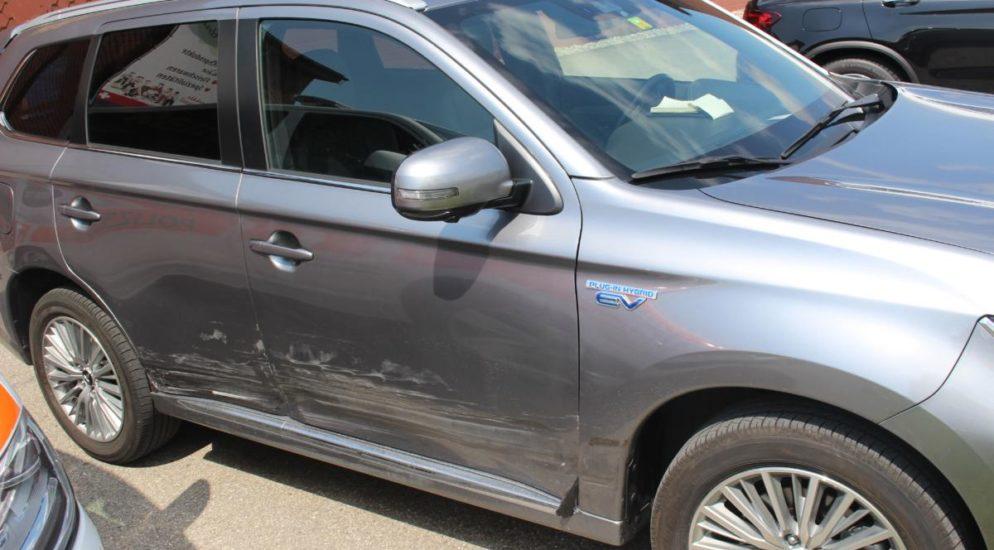 Verkehrsunfall zwischen zwei PW in Appenzell
