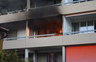 Balkonbrand in Kriens LU