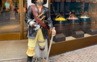Stadt Schaffhausen: Piratenfigur geklaut