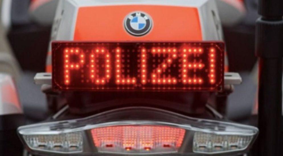 Lussy FR - Fahrzeug nach deutlicher Geschwindigkeitsüberschreitung beschlagnahmt