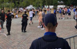 Sitten VS: Polizei an den Jugendfesten auf der Planta im Einsatz