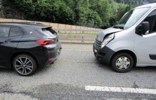 Verkehrsunfall auf der A3 bei Filzbach GL