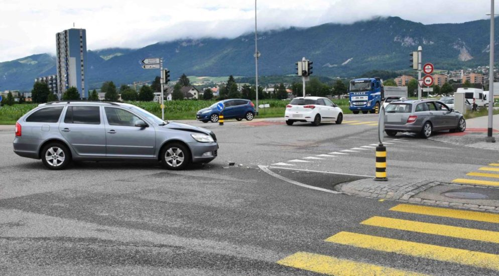 Solothurn - Polizei sucht nach Kollision Zeugen