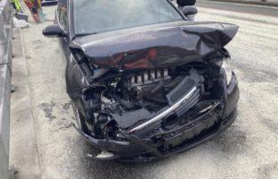 Filzbach GL: Crash auf der A3