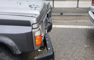 Autos ineinandergeschoben: Unfall A3 Bilten GL
