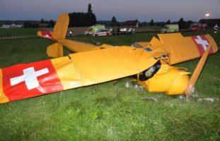 Subingen SO - Todesopfer und Schwerverletzter nach Flugzeugabsturz