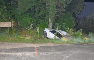 Junger Autolenker flüchtet in Schaffhausen SH vor Polizei und verunfallt