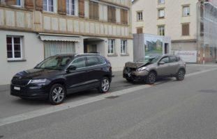 Waldstatt AR: Verkehrsunfall wegen Sekundenschlaf