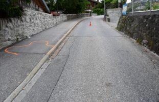 Chur GR: Schwerer Verkehrsunfall zwischen Radfahrerin und Fussgängerin