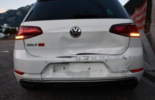 Chur GR: Verkehrsunfall zwischen zwei Autos