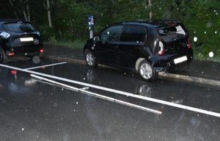 Chur GR - Verkehrsunfall auf der Felsenaustrasse