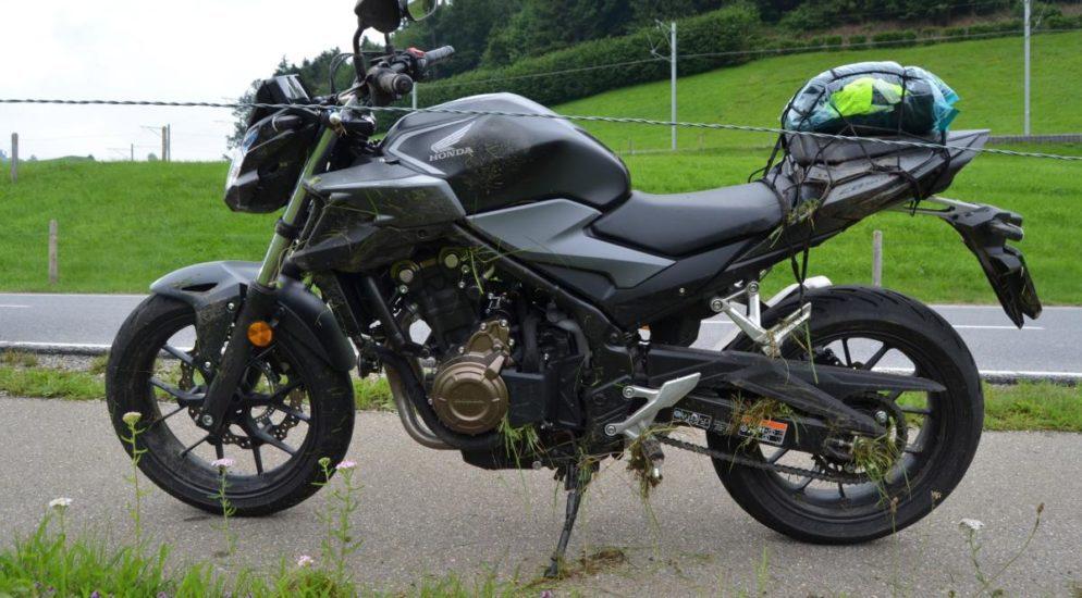Urnäsch AR - Motorradschüler verliert Kontrolle über sein Töff