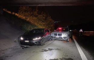 Hunzenschwil AG - Autodieb nach Verfolgung festgenommen