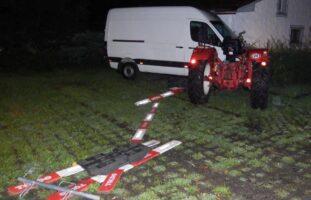 Wallenwil TG: Alkoholisierter Traktorfahrer (19) prallt bei Unfall in Lieferwagen