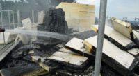Brand bei Renovationsarbeiten in Emmenbrücke