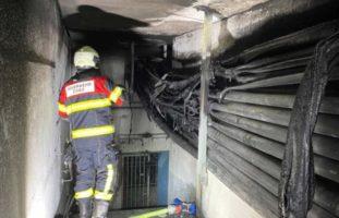 Cham ZG: Brand an Kabelkanal: Technische Ursache ausgeschlossen